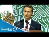 Peña Nieto desea pronta recuperación de López Obrador por problemas de salud