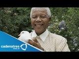 Muere Nelson Mandela, icono de la libertad / Die Nelson Mandela, icon of freedom