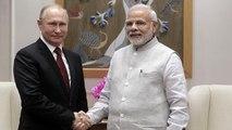 بوتين في الهند لإتمام صفقة أسلحة ضخمة وتهديدات أمريكية بفرض عقوبات على نيودلهي