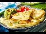 Receta de quesadillas de papa y queso de cabra / Cómo hacer quesadillas de papa
