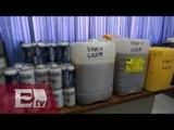Aseguran más de mil litros de bebidas alcohólicas en reclusorios  del DF