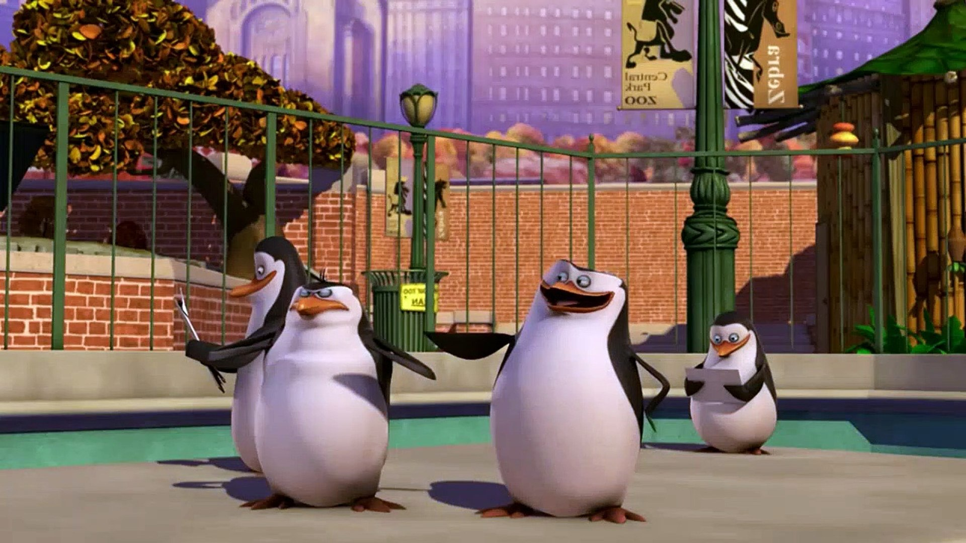 The Penguins Of Madagascar 2x63 The Big Move Video Dailymotion