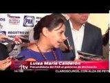 Crimen organizado no debe infiltrarse en las elecciones 2015: Luisa María Calderón