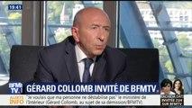 """""""J'ai essayé, de manière très loyale ,de mener la politique qui était faite"""", assure Gérard Collomb"""