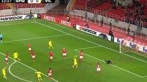 Toko Ekambi Goal - Spartak Moscow vs Villarreal 0-1 04/10/2018