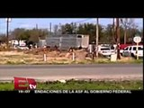 Policías de Texas matan a hispano por `amenazarlos´con machete / Excélsior Informa