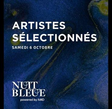 Artistes MAD - Soirée Nuit Bleue