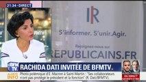 Dissensions chez Les Républicains, Rachida Dati prend la défense de Laurent Wauquiez