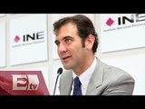 Lorenzo Códova consejero del INE: inseguridad no es impedimento para elecciones / Vianey Esquinca