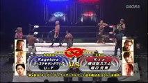 Natural Vibes (Genki Horiguchi, Kzy & Susumu Yokosuka) (c) vs. Tribe Vanguard (Kagetora, U-T & Yosuke Santa Maria) Open The Triangle Gate Title Match Dragon Gate The Gate Of Origin 2018
