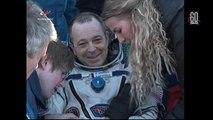 Uluslararası Uzay Üssü'ndeki üç astronot 6 ay sonra 'yeniden dünya'ya geldi