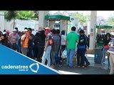 ¡¡IMPRESIONANTE!! Normalistas de Oaxaca realizan protestas (VIDEO)