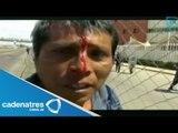 ¡¡IMPRESIONANTE!! Desalojan a indígenas en Oaxaca (VIDEO)