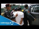 Delincuentes detenidos en Michoacán