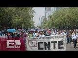 Sección 22 marcha en Oaxaca contra la evaluación docente / Vianey Esquinca