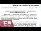 Rescatan a secuestrados en Matamoros, Tamaulipas / vianey Esquinca