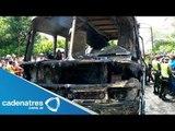 Mueren 32 niños quemados en accidente automovilístico en Bogota, Colombia