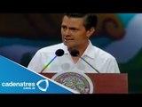 Discurso de Peña Nieto en el Tianguis Turístico México-Quintana Roo 2014