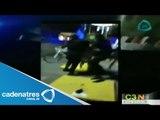 Policías golpean a una mujer en la Feria de San Marcos / Policemen beat a woman in the Feria de San