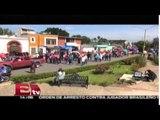Marchas de la sección 22 en Oaxaca / Titulares de la tarde
