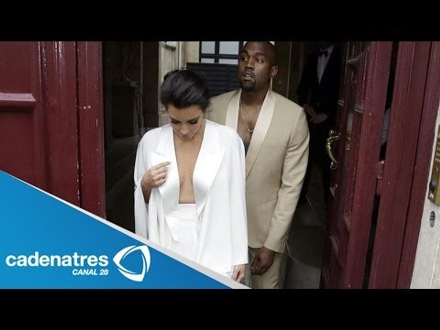 Kim Kardashian y Kanye West se casan en Florencia / Kim Kardashian and Kanye West get married