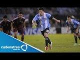 Argentina hace su debut en el mundial 2014 con golazo de Leo Messi (VIDEO)