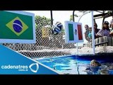 Tortuga vaticina triunfo de México ante Brasil / Tortuga predicts victory of Mexico against Brazil