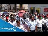 Sección 22 toma plazas y negocios en Oaxaca / Section 22 takes places and businesses of Oaxaca