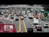 Reducción de carriles por obras en la México-Cuernavaca  / Ricardo Salas