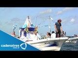 Tradicional fiesta de pescadores en Campeche / Pescadores festejan a la Virgen de la Asunción