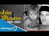Robin Williams murió por asfixia / Robin Williams died of suffocation