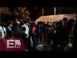 Segundo día de plantón en Reforma por padres de los 43 normalistas / Pascal Beltrán