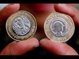 Emiten nueva moneda de 20 pesos / Qué tiene la nueva moneda