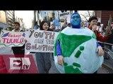 Protestas alrededor del mundo, piden detener el cambio climático /Paola Virrueta