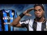 Ronaldinho llega a México portando la playera de Gallos Blancos del Querétaro / #SomosGallos