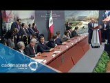 El presidente Peña Nieto presenta el proyecto del nuevo aeropuerto