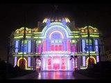 Espectacular!!! Se ilumina el Palacio de Bellas Artes por su 80 aniversario