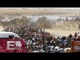 Turquía pide más recursos para enfrentar crisis humanitaria por refugiados / Ingrid Barrera