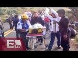 Volcadura de autobús en Morelos deja cuatro peregrinos muertos/ Ingrid Barrera