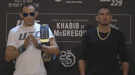UFC 229: Media Day Face-offs