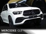 Mercedes GLE en direct du Mondial de Paris 2018