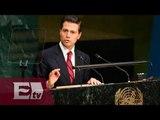EPN propone medidas conjuntas para enfrentar problema de drogas / Ricardo Salas