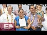 Otorgan seguro de vida a jefas de familia afiliadas a Liconsa / Mariana H