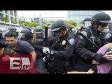 Latinos de San Diego protestan contra de Donald Trump / Kimberly Armengol
