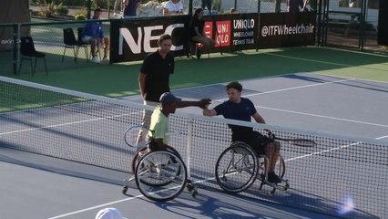 Quad's Singles Final: Sithole (RSA) vs Schroder (NED)