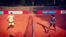 Dustin Brown invente une nouvelle façon de jouer au tennis et c'est génial