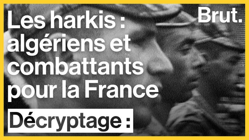 Les harkis : ils sont algériens et ont combattu pour la France