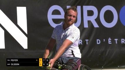 Men's Singles Semi-Final - Peifer (FRA) vs Olsson (SWE)