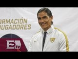 Presentan a Francisco Palencia como nuevo DT de los Pumas / Adrenalina