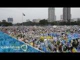 Seis millones de fieles despiden al papa Francisco de Filipinas